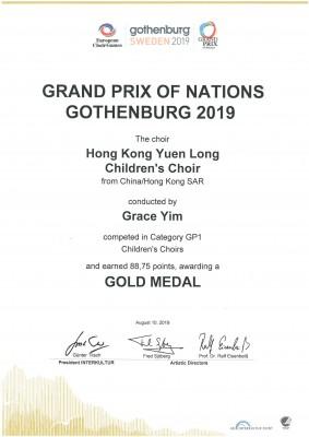 2019 Grand Prix(Gothenburg)GP1-Gold Medel_01